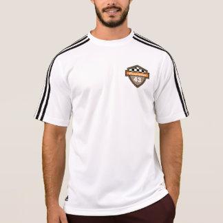 Motoの配線管の男性アディダスClimaLite®のTシャツ Tシャツ