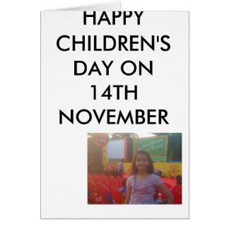 moto_0351、幸せな子供' 11月14日のS日 カード