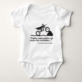 Moto Pedra ベビーボディスーツ