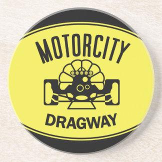 Motorcity Dragwayのレトロのコースター コースター