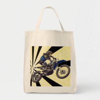 Motorcrossのライダー トートバッグ