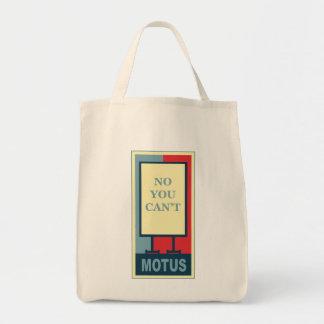 MOTUSアイコン: できません トートバッグ