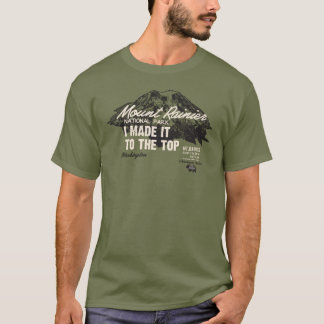 Mount Rainier National Park Washington IMITTT Tシャツ