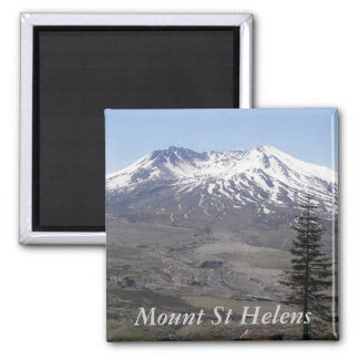 Mount Saint Helensの写真 マグネット