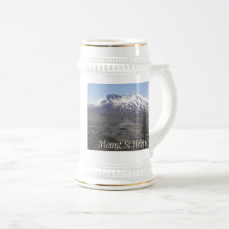 Mount Saint Helensの火山 ビールジョッキ
