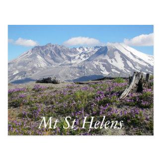 Mount Saint Helens旅行写真 ポストカード