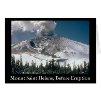 Mount Saint Helens -前噴火 カード