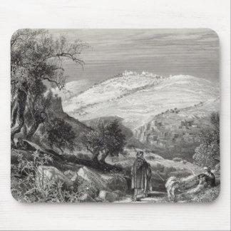 Mount ZionからのMount of Olives、 マウスパッド