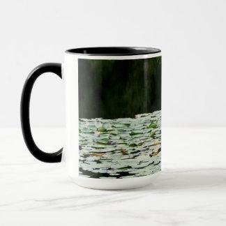 mountain湖のスイレン マグカップ