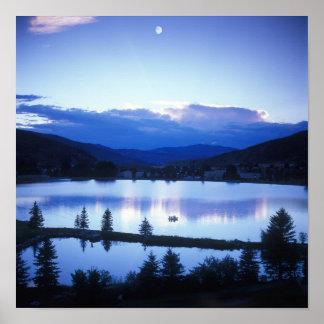mountain湖ポスター ポスター