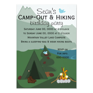 Mountainscapeのキャンプ カード