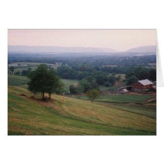 Mountvilleのパス、メリーランドのMiddletownの谷 カード