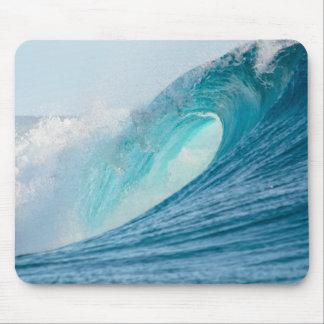 mousepadを壊すサーフィンのバレルの波 マウスパッド