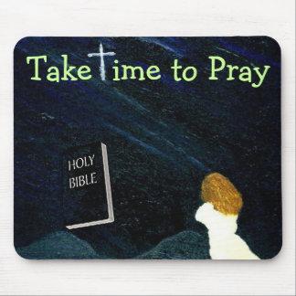 mousepadを祈るのに時間をかけて下さい マウスパッド
