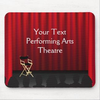 Mousepad劇場のステージのカーテンディレクター マウスパッド