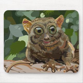 mousepad、かわいく、愛らしいジャングルの生き物 マウスパッド
