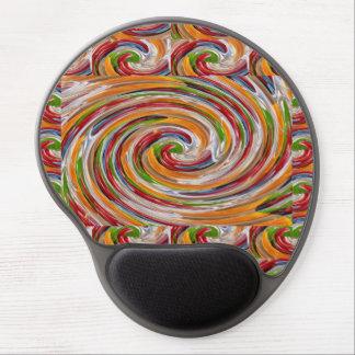 Mousepad gel-pad wrist support non-skid black back ジェルマウスパッド