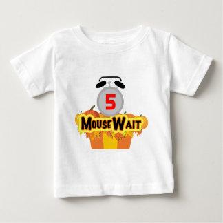 MouseWaitの第5誕生日の強打の限定版 ベビーTシャツ