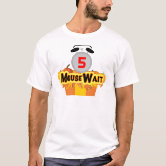 MouseWaitの第5誕生日の強打の限定版 Tシャツ