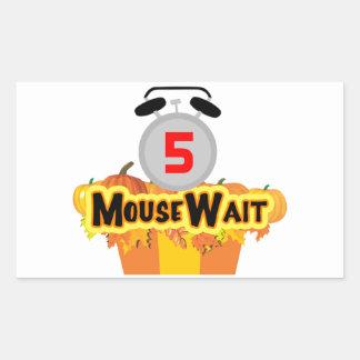 MouseWait第5 Birthday Bash LE Gear 長方形シール