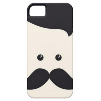 Moustache氏! iPhone SE/5/5s ケース