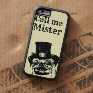 Moustachedのパグ Tough Xtreme iPhone 6 ケース