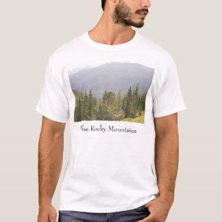Moutainsのロッキー山脈 Tシャツ