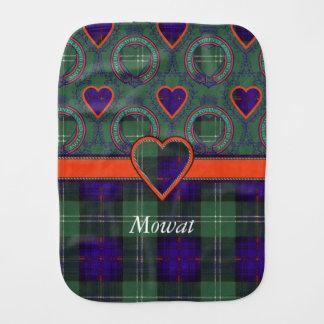Mowatの一族の格子縞のスコットランドのキルトのタータンチェック バープクロス