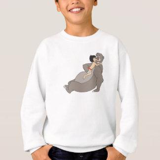 MowgliはBalooディズニーを抱き締めます スウェットシャツ