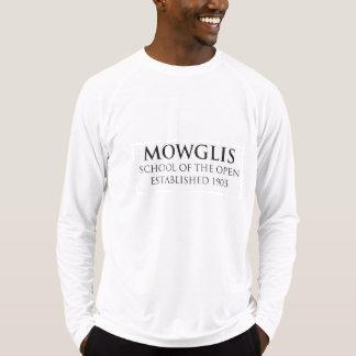 MowglisのスポーツTekによって合われる性能のワイシャツ Tシャツ