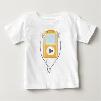 Mp3のTシャツ(Babies') ベビーTシャツ