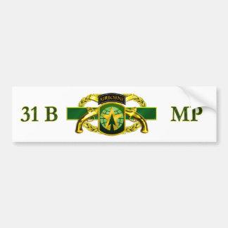 MP 31Bの第16 MPのBDE バンパーステッカー