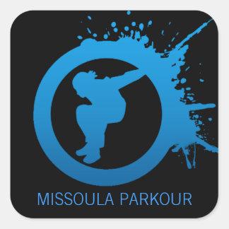 MPGのロゴのステッカー スクエアシール