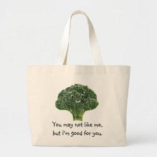 Mr.Broccoli ラージトートバッグ