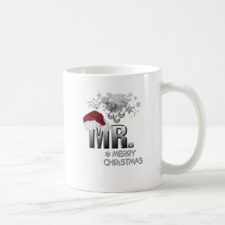 MR.Firstのクリスマス コーヒーマグカップ