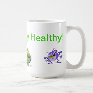 MrGermの不健康な健康の! コーヒーマグカップ
