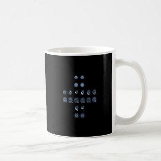 MRIの十字 コーヒーマグカップ