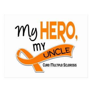 MSの多発性硬化私の英雄私の叔父さん42 ポストカード