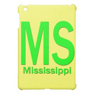 MSミシシッピーの明白な緑 iPad MINIカバー