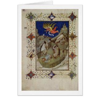 MS Notre Dameの11060-11061時間: Tierce、 カード