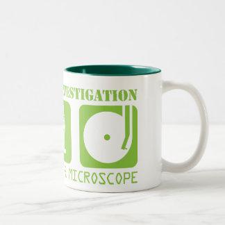 MSI: 顕微鏡アイコンマグ ツートーンマグカップ