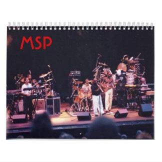 MSPのカレンダー カレンダー