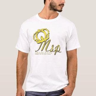 MSPの白のティー Tシャツ