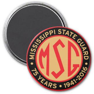 MSSGのレトロ1941の役人記念日パッチの磁石 マグネット