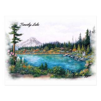 MtのフードのオレゴンのオリジナルはドロレスEggerを印刷します ポストカード