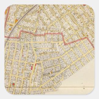Mtバーノンの地図書の地図 スクエアシール
