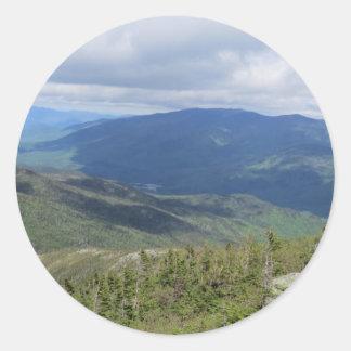 Mtワシントン州からの眺め ラウンドシール