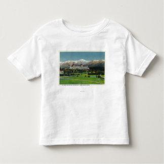 Mtワシントン州のホテル、大統領のな範囲の眺め トドラーTシャツ