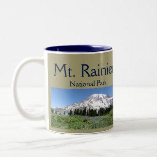 Mt雨NPのコラージュ ツートーンマグカップ