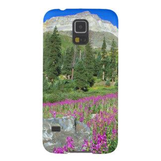 Mt.のfireweedおよびMt. Sneffelsの草原 Galaxy S5 ケース